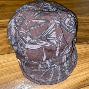 Obey hat Womens cadet hat printed